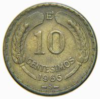 [NC] CILE - 10 CENTESIMOS 1966 (nc3889) - Cile
