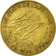 Monnaie, États De L'Afrique Centrale, 10 Francs, 1985, Paris, TTB - República Centroafricana