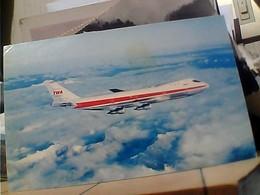 AEREO AVION JAMBO JET BOEING 747 TWA  VB1971  HA7433 - 1946-....: Modern Era