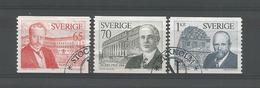 Sweden 1974 Nobel Prize 1914 Y.T. 867/869 (0) - Suède