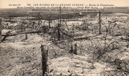 MONT DE CHAMPAGNE VUE SIGNAL DE MAUROY LES RUINES - Verdun