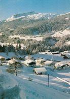 1 AK Österreich Vorarlberg * Blick Auf Unterwestegg - Ein Ortsteil Von Riezlern Im Kleinwalsertal - Luftbildaufnahme * - Kleinwalsertal