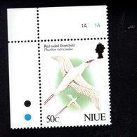705824774 NIUE  POSTFRIS MINT NEVER HINGED POSTFRISCH EINWANDFREI  SCOTT 605 BIRDS - Niue