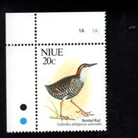 705826352 NIUE  POSTFRIS MINT NEVER HINGED POSTFRISCH EINWANDFREI  SCOTT 604 BIRDS - Niue