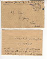 GAMPELEN + CORRESPONDANCE SPAHI ALGERIEN OU MAROCAIN + CENSURE CENSOR WW2 SUISSE INTERNES CAMP INTERNEMENT /FREE SHIP. R - Storia Postale