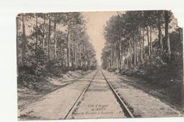 CPA Arès Ligne De Facture à Lesparre - Railway