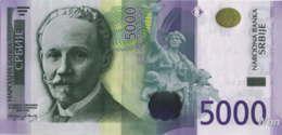Serbie 5000 Dinara (P53) 2010 -UNC- - Serbie