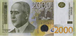 Serbie 2000 Dinara (P61b) 2012 -UNC- - Serbia