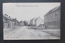 Mechelen Aan De Maas - Hôtel Du Limbourg - 1909 - Uitg. Gebr. Smeets N° 15160 - Maasmechelen - Maasmechelen