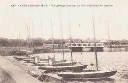 Calvados       1535        Courseulles-sur-mer.Le Garage Des Petits Voiliers Dans Le Bassin - Courseulles-sur-Mer