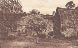Calvados        1558        Le Vey.Vieilles Maisons Et Pommiers En Fleurs.Hôtellerie Du Moulin - France