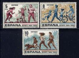 ESPAGNE - 2162/2164** - LE SPORT POUR TOUS - 1931-Aujourd'hui: II. République - ....Juan Carlos I
