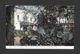 CAMAGUEY - CUBA - HOTEL CAMAGUEY THE COURT YARD - PATIO Y JARDIN - BY THE ROTOGRAPH - Cuba