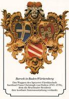 1 AK Wappen Des Speyerer Fürstbischofs Kardinal Franz Christoph Von Hutten 1743-1770 - Post & Briefboten