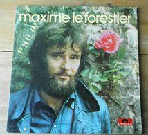 "Vinyle ""Maxime Le Forestier"" ""Mon Frère""     DISQUE DEDICACE - Country En Folk"