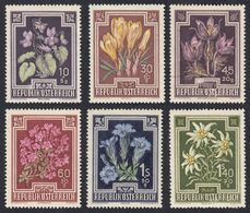 AUSTRIA  OSTERREICH - 1948 - Lotto 6 Francobolli Nuovi MNH: Yvert 722, 724, 726, 727, 730 E 731. - 1945-60 Neufs