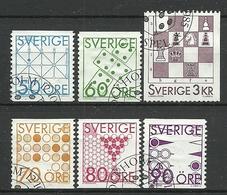 Sweden 1985 Games Y.T. 1336/1341 (0) - Oblitérés