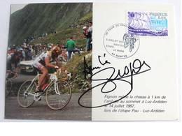 Carte Postale De Laurent FIGNON - Dédicace - Hand Signed - Autographe Authentique - Cyclisme