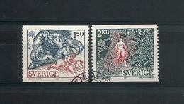 Sweden 1981 Europa Folklore Y.T. 1133/1134 (0) - Oblitérés