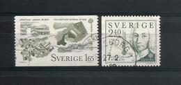Sweden 1982 Europa  Y.T. 1169/1170 (0) - Oblitérés