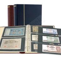 Schaubek Rb-1033 Ringbinder Diplomat Mit 20 Blatt Fo-103 Blau - Albums à Bandes