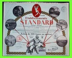 RFRA152 ACTION S.A. STANDARD FILVER SUPER DECO TRES RARE Comines 1929. Décoré - Textile