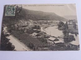 Besançon - L'usine à Gaz Et La Vallée De Casamène - 1906 - Besancon