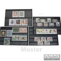 Schaubek V603/S Versand-Einsteckkarten Mit Schutzblatt, 3 Streifen 156 Mm X 112 Mm, Packung Mit 100 Stück - Albums à Bandes