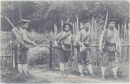 Cpa Asie – Tonkin – Tirailleurs Tonkinois En Marche - Viêt-Nam