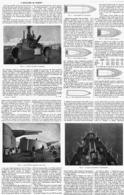 L'ARTILLERIE De MARINE ( LE JEAN-BART Et Le JULES-MICHELET )   1915 - Bateaux