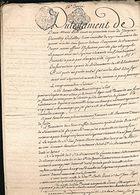 Testament Lion Du Crottoy Du Belloy à Briancourt - Manuscripts