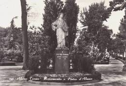 Abano Terme ( Padova )   -  Monumento A Pietro D'abano  -  Viaggiata - Padova