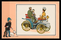"TINTIN / Chromo ""Voir Et Savoir"" Par Hergé : Automobile N° 46 - Edition DARGAUD - Other"