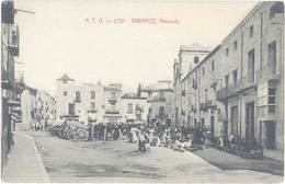 Cpa Espagne – Vinaroz – Mercado - Espagne