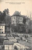 CPA 38  CHATEAU DE CABAROT ST GEOIRE EN VALDAINE 1908 - Saint-Geoire-en-Valdaine