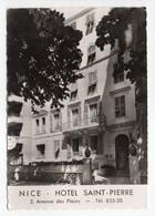 - CPSM NICE (06) - HOTEL SAINT-PIERRE - 2, Avenue Des Fleurs - Photo CAP - - Cafés, Hotels, Restaurants