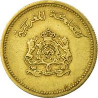Monnaie, Maroc, Al-Hassan II, 10 Santimat, 1987, Paris, TTB, Aluminum-Bronze - Maroc