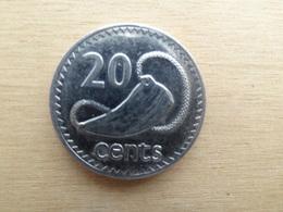 Fidji  20  Cents 1992  Km 53 A - Fidji