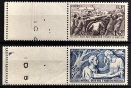 FRANCE 1941 - Y.T. N° 497 / 498  - NEUFS** - France
