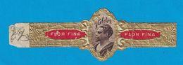1 BAGUE DE CIGARE VALDOR FLOR FINA - Bauchbinden (Zigarrenringe)