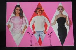 Actress AK Schauspielerin SHEILA / ANN MARGRET / TIPPI HEDREN ~ Um 1960s  - Old Postcard - Pin Up - Sexy - Acteurs