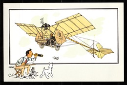 "TINTIN / Chromo ""Voir Et Savoir"" Par Hergé : Aviation Origine N° 11 - Edition CASTERMAN - Cromo"