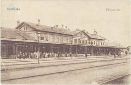 Cpa Hongrie – Szabadka – Palyaudvar ( Gare ) - Hongrie
