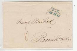 Austria Prephilately Letter Cover 1845 Graz To Bruck Bb190120 - ...-1850 Vorphilatelie