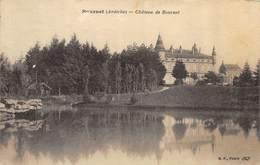 CPA 07 BOURNET CHATEAU DE BOURNET - Francia
