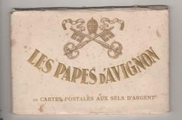 Les Papes D Avignon Carnet De 10 Cartes - Popes