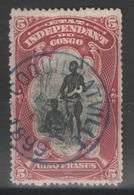 Congo Belge - YT 18 Oblitéré Coquilhatville (Mbandaka) 1899 - Belgisch-Kongo