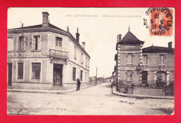F-33-Langon-04P143  Hôtel Des Postes Et Chalet Delas, Cpa BE - Langon