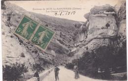26 Drôme -  Environs De BUIS-les-BARONNIES - Dans Les Gorges D'Ubrieu - 1918 - Buis-les-Baronnies