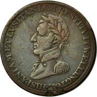 France, Jeton, Wellington, Victoire à Salamanque, 1812, TTB, Bronze - Royaume-Uni